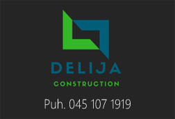 Delija Construction Oy logo