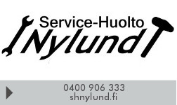 Service-Huolto Nylund logo